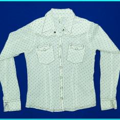 IMPECABILA → Bluza—camasa, bumbac, fina, GARCIA → fete | 11—12 ani | 146—152 cm, Alta, Alb