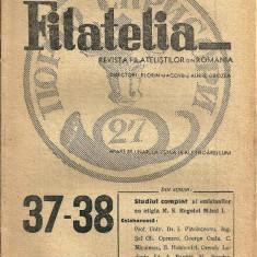 Filatelia revista filatelistilor din Romania nr.37-38, 1946 - Revista culturale