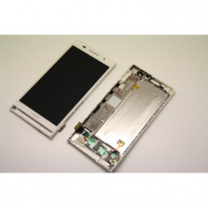Display touchscreen lcd Huawei P6 alb - Geam carcasa