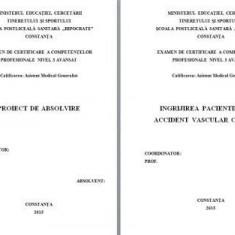 LUCRARE DE LICENTA A.M.G. - INGRIJIREA PACIENTILOR CU ACCIDENT VASCULAR CEREBRAL (1)