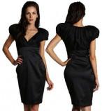 Superba rochie coctail TED BAKER noua cu eticheta - SUA, S/M, Negru, Midi, Ted Baker