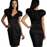 Superba rochie coctail TED BAKER noua cu eticheta - SUA - Rochie de seara Ted Baker, Marime: S/M, Culoare: Negru, Midi, Scurta