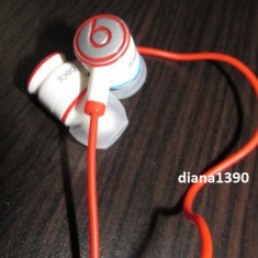 CASTI BEATS TOUR by DR. DRE Ibeats + 2 doape pe ALB Monster Beats by Dr. Dre, Casti In Ear, Cu fir, Mufa 3, 5mm