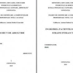 LUCRARE DE LICENTA A.M.G. - INGRIJIREA PACIENTILOR CU CORPI STRAINI INTRAOCULARI