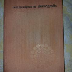 Mica enciclopedie de demografie Trebici V