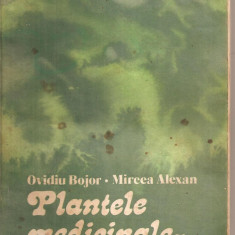 (C5721) PLANTELE MEDICINALE - IZVOR DE SANATATE DE OVIDIU BOJOR SI MIRCEA ALEXAN, EDITURA CERES 1981 - Carte tratamente naturiste