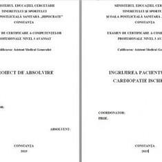 LUCRARE DE LICENTA A.M.G. - INGRIJIREA PACIENTULUI CU CARDIOPATIE ISCHEMICA