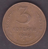 (M447) - MONEDA RUSIA - 3 KOP 1946, Europa