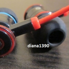 CASTI BEATS TOUR by DR. DRE Ibeats + 2 doape pe Negru Monster Beats by Dr. Dre, Casti In Ear, Cu fir, Mufa 3, 5mm