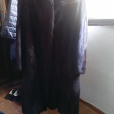 Haina de blana de vizon model clasic, lunga