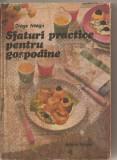 (C5724) SFATURI PRACTICE PENTRU GOSPODINE DE DRAGA NEAGU, EDITURA TEHNICA, 1988, CARTE DE BUCATE, Alta editura