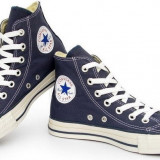 Bascheti Converse albastri unisex