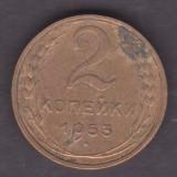(M445) MONEDA RUSIA - 2 KOP 1953, Europa