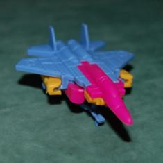 Figurina jucarie avion care se desface intr-un fel de robot, 7 cm nedesfacut - Vehicul