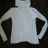 Bluza de dama, tricotaj, cu guler maricel, marimea L. COMANDA MINIMA 30 LEI!