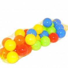 Set de bile coloate din plastic pentru copii