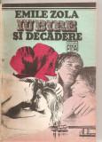 (C5664) IUBIRE SI DECADERE DE EMILE ZOLA, EDITURA FELIXFILM, 1992, TRADUCERE DE ANGELA CISMAS