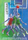 LITUANIA 1996, J.O. Atlanta, Baschet, MNH, serie neuzata,