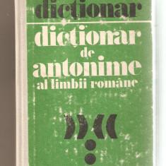Dictionar de antonime al limbii romane - Teste admitere liceu