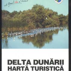 HARTA TURISTICA DELTA DUNARII