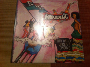 funkadelic one nation under a groove disc vinyl funk soul jazz rock cu single 7