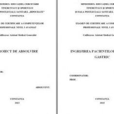 LUCRARE DE LICENTA A.M.G. - INGRIJIREA PACIENTIULUI CU ULCER GASTRIC (1) (+ prezentare Power Point)