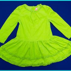 Rochie / rochita, catifea reiata, J. KHAKI Kids _ fete | 3 - 4 ani 104, Marime: Alta, Culoare: Verde