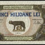 z607 BANCNOTA DE 5000000 LEI 1947 UNC