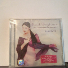 SARAH BRIGHTMAN - TIMELESS - (1997/WARNER MUSIC/GERMANY)- CD NOU/SIGILAT