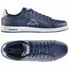 40_Adidasi originali KAPPA - din piele - adidasi barbati - cutie, Culoare: Albastru, Piele sintetica
