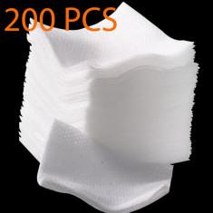 Servetele manichiura, 200 buc, dischete unghii false