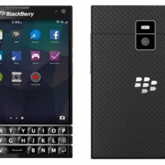 Blackberry Passport black, white noi noute sigilate la cutie, garant !PRET:400euro - Telefon BlackBerry, Negru, Neblocat