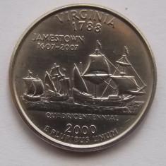 QUARTER DOLLAR USA 2000 VIRGINIA