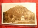 Ilustrata - Deva - Portul si Cetatea , interbelica, Necirculata
