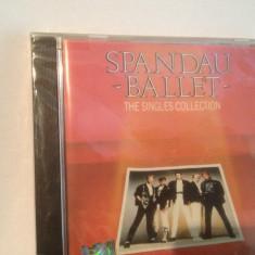 SPANDAU BALLET - THE SINGLES COLLECTION (1986/CHRYSALIS REC/UK) - CD NOU/SIGILAT
