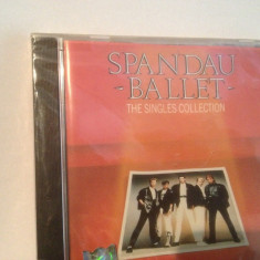 SPANDAU BALLET - THE SINGLES COLLECTION (1986/CHRYSALIS REC/UK) - CD NOU/SIGILAT - Muzica Pop Altele