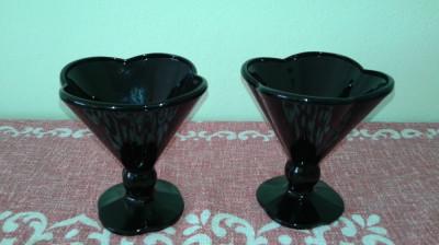 Vaza Veche sticla Murano Italia set doua buc. 2+1 GRATIS foto