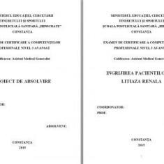 LUCRARE DE LICENTA AMG INGRIJIREA PACIENTILOR CU LITIAZA RENALA (1)