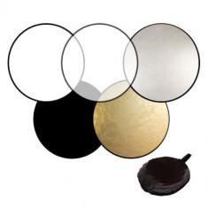 Blenda 60 cm Relexie - Difuzie diametru 60 cm rotunda 5 in 1, cu 5 fete - Echipament Foto Studio, Blende foto difuzie