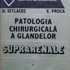 PATOLOGIA CHIRURGICALA A GLANDELOR SUPRARENALE - D. Setlacec, E. Proca (vol. I) - Carte Chirurgie