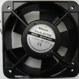 Dossy Ventilator carcasa metal 220V 0.22Ah 38W 150x150x51 mm DS15051ABHL  - NOU