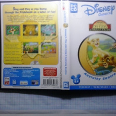 Joc PC - Disney's - The Lion King 2 - Acticity centre - (GameLand - sute de jocuri) - Jocuri PC Disney, Educationale, 3+, Single player