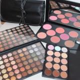 Set mare machiaj Trusa fard MAC + corectoare + pudra blush + pensule Fraulein - Trusa make up Mac Cosmetics