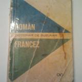 DICTIONAR DE BUZUNAR ROMAN - FRANCEZ - ION BRAESCU ( 620 )