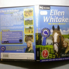Joc PC - Ellen Whitaker - The horse mystery - (GameLand) - Jocuri PC, Role playing, Toate varstele