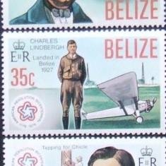 BELIZE 1976 - PERSONALITATI 3 VALORI , NEOBLITERATE - E0585