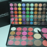 Trusa machiaj 82 culori fard ochi, pudra, corector, ruj MAC - Trusa make up Mac Cosmetics