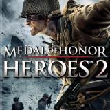 Vand MEDAL OF HONOR HEROES 2 PSP + PES 13 - Jocuri PSP, Shooting