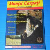REVISTA MUNTII CARPATI - NR 15 - 1999 - MUNTII CINDREL, SUREANU - Carte Geografie