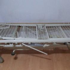 Pat de spital cu 3 functii hidraulice - Pat dormitor